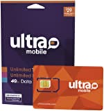 $29 Ultra Mobile Phone Plan | Unlimited Talk & Text +
