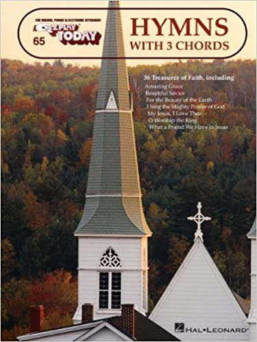 Hymns with 3 Chords: E-Z Play Today Volume 65 (EZ Play - Lib