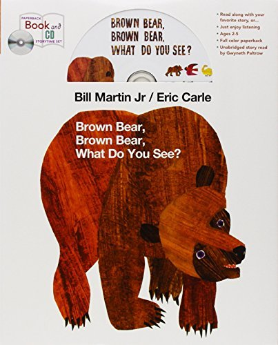 Brown Bear book and CD storytime set by Bill Martin (2013-03-12) -