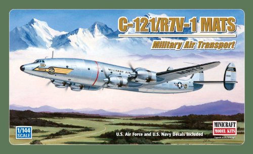 Minicraft Models C-121/R7V-1 MATS Connie (Duel Decals) for sale  Delivered anywhere in USA