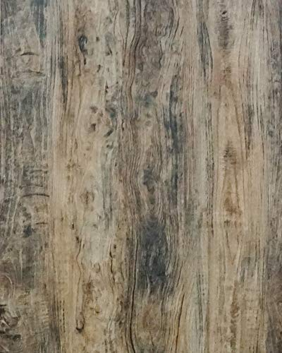 Wood Contact Paper Wood Grain Contact Paper Self Adhesive Wood Peel and Stick Wallpaper Wood Wallpaper Removable Wall Covering Paper Shelf Paper Drawer Liner Texture Vinyl Film Roll Brown 17.7