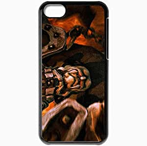 Personalized iPhone 5C Cell phone Case/Cover Skin Armies Of Exigo Goblin Black