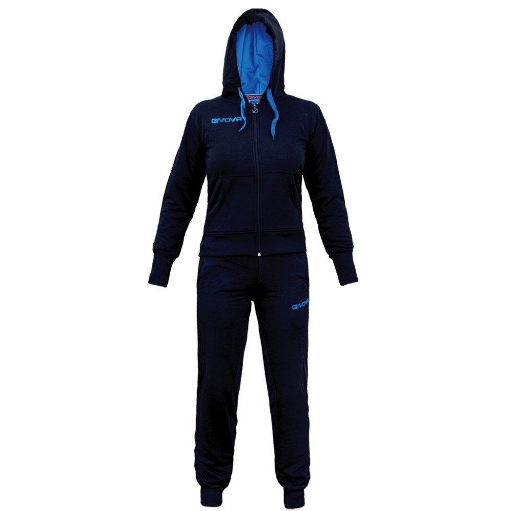 TALLA XL. Givova, chandal lady, azul /turquesa, XL