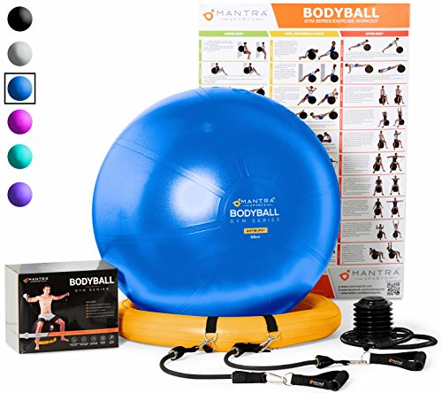 Mantra Sports Exercise Ball Resistance product image