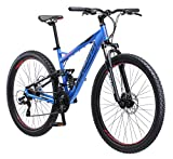 Schwinn Men's Protocol 2.7 Mountain Bike, 27.5' Wheels, 17' Frame Size, Matte Blue