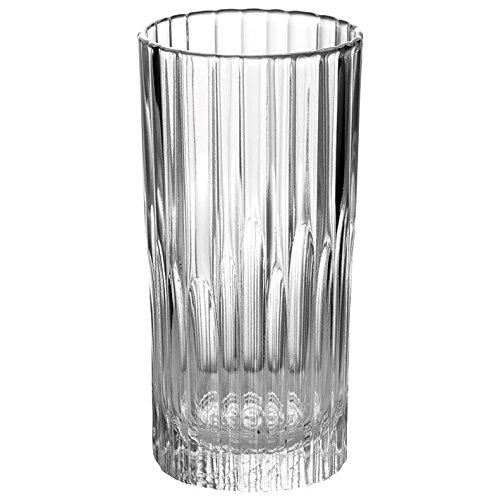 Duralex Made In France Manhattan High Glass Tumbler (Set of 6), 10.62 oz, Clear ()