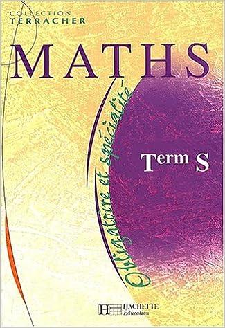 maths tle s enseignement obligatoire et de specialite