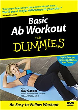 Amazon.com: Basic Ab Workout For Dummies: Gay Gasper: Movies ...