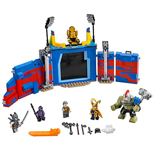 LEGO Super Heroes Thor Vs. Hulk: Arena Clash 76088 Building Kit (492 Piece)]()