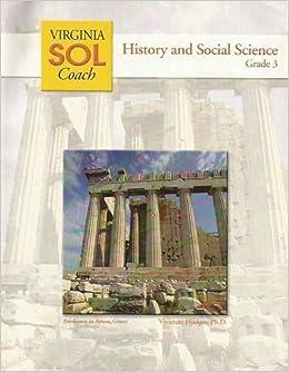 Book History and Social Science, Grade 3, Virginia SOL Coach