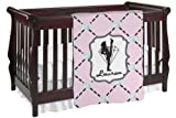 Diamond Dancers Baby Blanket (Single Sided) (Personalized)