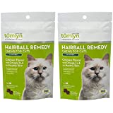 TOMLYN Laxatone Soft Chews Hairball Formula Cat Treats (2 Pack)