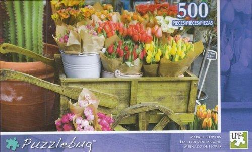 Puzzlebug 500 - Market Flowers