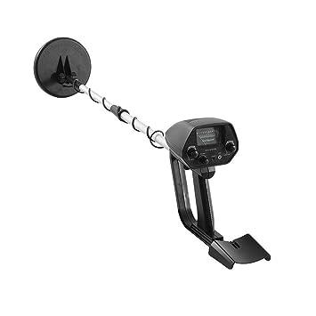 Laurelmartina Detector de Metales subterráneo Ligero portátil portátil MD-4030 Detectores de Oro Ajustable Buscador