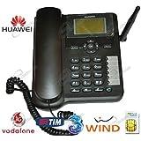Telefono Fisso 3G/GSM per schede SIM, con antenna e batteria