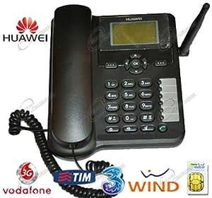 Huawei teléfono Fijo con Tarjeta SIM, Compatible Tim