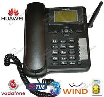 Huawei teléfono Fijo con Tarjeta SIM, Compatible Tim ...