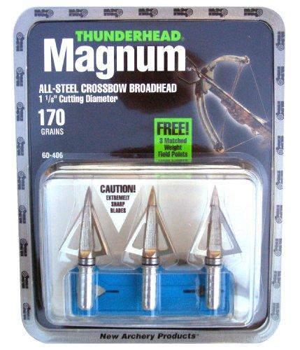 Thunderhead Magnum Broadhead (3-Pack), 170-Grain
