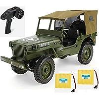 MODELTRONIC Jeep Militar Willy Jedi Todo Terreno 4x4