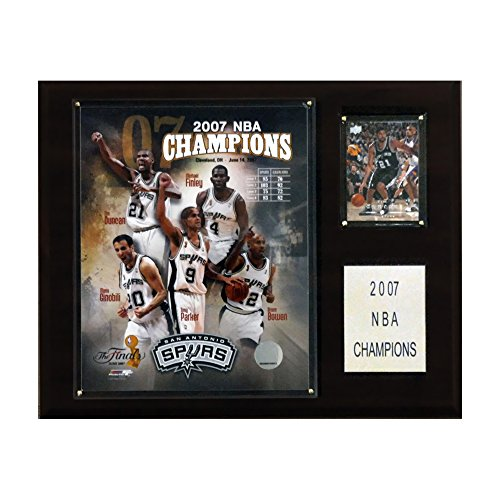 NBA Spurs 2006-07 NBA Champions Plaque