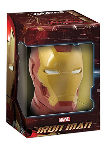 Yahtzee: Avengers Age of Ultron Iron Man Board Game by USAopoly