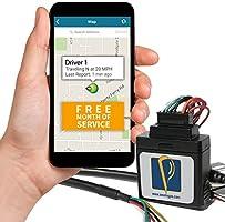 Conscientes de sistema de rastreador GPS y GPS, dispositivo de seguimiento para OBD coche GPS, vehículo dispositivo de seguimiento apvds1, Cableado + un mes, Negro