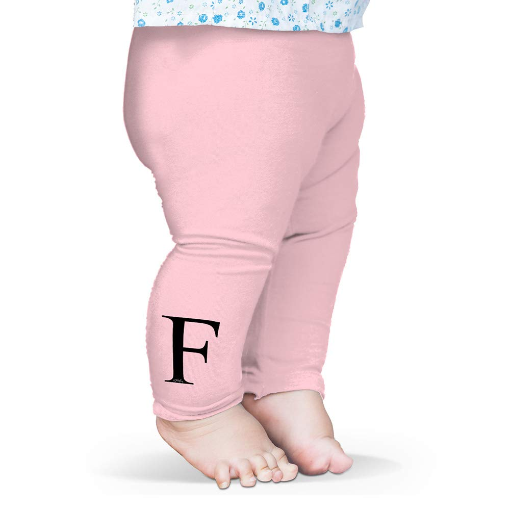 TWISTED ENVY Alphabet Monogram Letter F Baby Printed Leggings