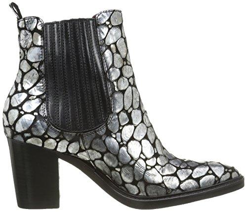 Argent Tequila 9644 Nero Piu Antracite Sauron Women's Brigida Donna Boots 56Xxw8S1xq