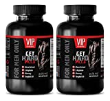 #7: testosterone booster for men muscle growth - GET HARD PILLS 2170Mg - FOR MEN ONLY - maca harmony - 2 Bottles (120 Capsules)