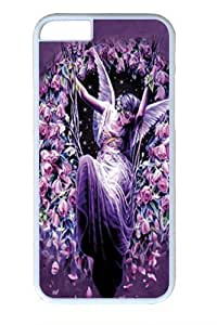 Gatekeeper Angel PC Case Cover For Apple Iphone 6 Plus 5.5 Inch and Case Cover For Apple Iphone 6 Plus 5.5 Inch White