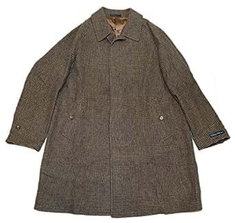 RALPH LAUREN Polo Men Glen Plaid Wool Overcoat Jacket Coat
