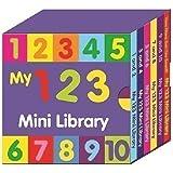 Preescolar My 123 Mini Biblioteca - Juego De 6 Learn Números & Counting Libros