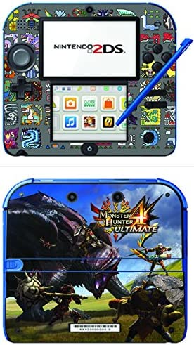 Monster Hunter 4 Ultimate Limited Edition MH4U Game Skin for Nintendo 2DS Console