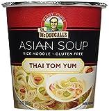 Dr McDougalls Thai Tom Yom Rice Noodle Asian Soup, 1.2 Ounce - 6 per case.