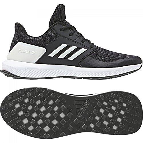 Running Cblack adidas Mixte Clowhi Chaussures Carbon Cblack Carbon Knit RapidaRun Noir Clowhi de Enfant qIq8C