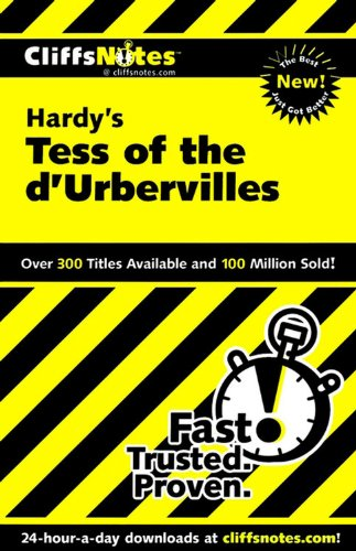 CliffsNotes on Hardy's Tess of the d'Urbervilles (Cliffsnotes Literature Guides)