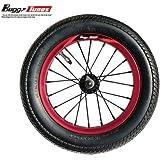 Buggycross バギークロス 専用 12インチスペアタイヤAssy 【RED】 オンロードKENDA BGT-TY4811