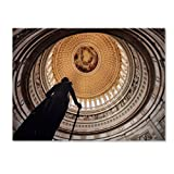 Trademark Fine Art US Capitol Rotunda by Gregory O'Hanlon Canvas Wall Art, 22 by 32-Inch