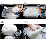 AINOLWAY Instant Snow Fake Snow Powder for Cloud