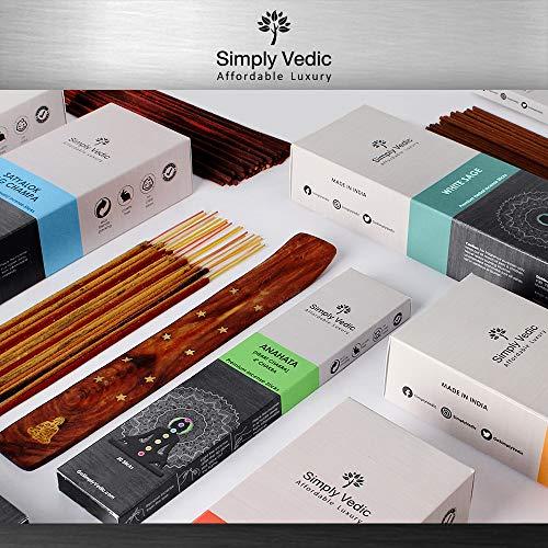 140 incense sticks and holder