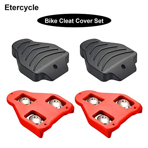 - Etercycle Road Bike Cleats Cover Set Compatible with Look Delta/Keo Cleats,Perfect for Indoor Outdoor Cycling Shoes Road Grip Pedals Spining Class Cycle