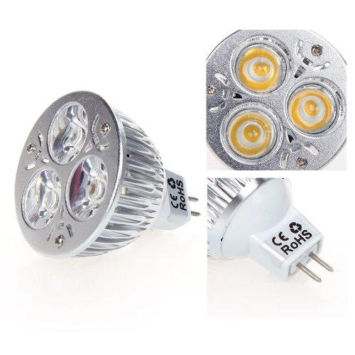Docooler Dimmable 9W MR16 Warm White LED Light Spotlight ...