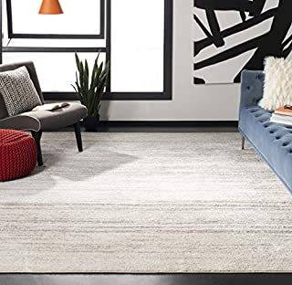 Safavieh Adirondack Collection ADR113B Ivory and Silver Modern Abstract Area Rug (11' x 15') (B01B9A4EOC) | Amazon price tracker / tracking, Amazon price history charts, Amazon price watches, Amazon price drop alerts