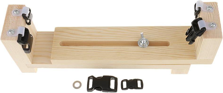 1 Set Jig Bracelet Maker Paracord Braiding Tool Kit with Buckle Paracord Needles Cord