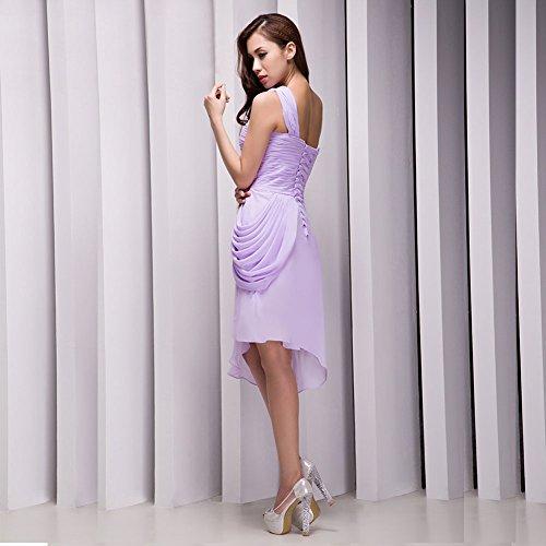 Vimans -  Vestito  - linea ad a - Donna lavanda 46