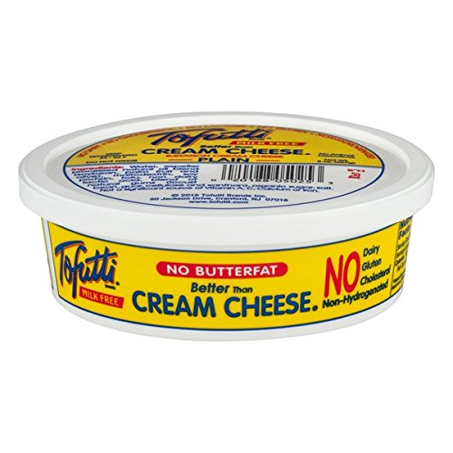 Tofutti Better Than Cream Cheese Non Hydrogenated, 8 Ounce (Pack of 12)