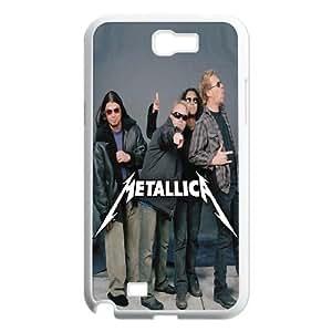 Printed Phone Case Metallica For Samsung Galaxy Note 2 N7100 Q5A2112469