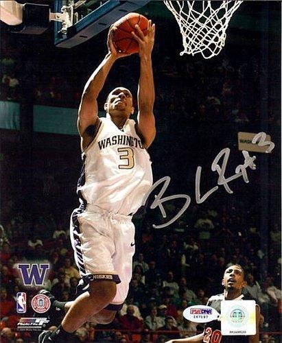 Brandon Roy Signed 8x10 Photograph Washington Huskies - Certified Genuine Autograph By PSA/DNA - Autographed Photo