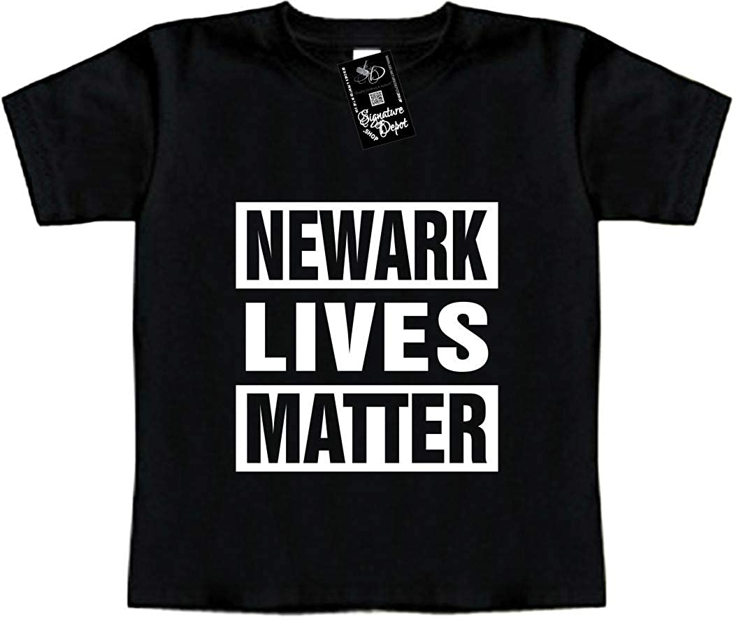 Newark Lives Matter New Jersey, NY Toddler Tee Funny Baby T-Shirt