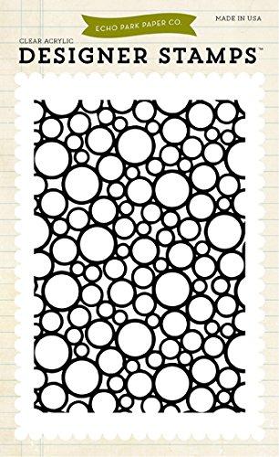 Echo Park Paper Photo-Polymer Briefmarken 4-Zoll x 15 cm, Kreise B00UJFMXPG   Fairer Preis